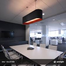 Conference Room Lighting Oval Pendant Lighting Collection Satelight Long Oval Shaped