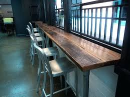 Reclaimed Wood Bar Table Reclaimed Wood Pub Table Receive4 Club