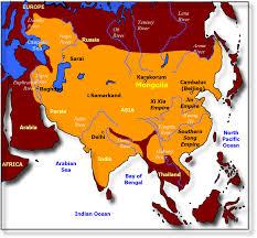 Mongolia On World Map Map Of Mongol Empire U2013 Zendmen Travel Mongolia