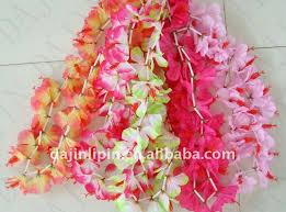 Polyester Flowers - silk cloth flower leis hawaii led lei polyester flower lei buy