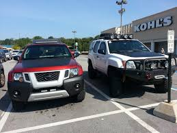 nissan xterra lifted off road spotted lifted white 2nd gen media pa second generation