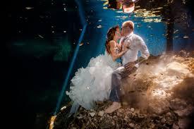 trash the dress stephanie and erich s riviera maya cenote trash the dress