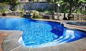 fibreglass pool patio materials