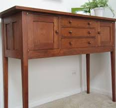 handmade cherry shaker buffet by custom wood accents custommade com
