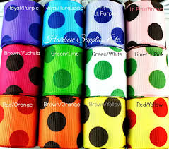 polka dot grosgrain ribbon 100 best hse ribbon images on ribbons and