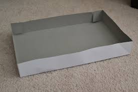 how to make a whole box out of a shirt box lid or bottom laforce