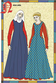 these are fairly simple medieval garb especially compared to