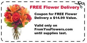 free delivery delivery coupon code the online flower expert