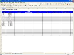 Mac Spreadsheet Program Expense Report Spreadsheet Template Haisume
