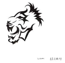 tribal lion tattoo by gurjiogomez on deviantart