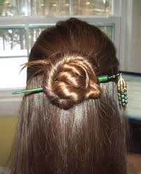 hair plait with chopstick hairstyles for hair sticks 9 steps with pictures