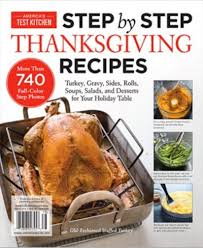 america s test kitchen special issue step by step thanksgiving