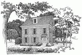 colonial revival house plans eplans colonial revival house plan for a small lot