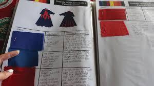 organise fabric swatches fashion design youtube