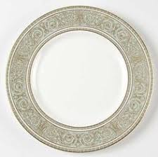 mikasa renaissance antique antique royal doulton china set 4 dinner plate raised gold encrusted