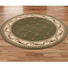 Green And Brown Area Rugs Aurelius Round Area Rugs