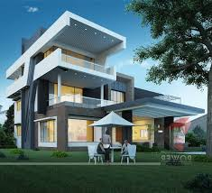 modern house plans ultra modern house plans designs open concrete post ranch