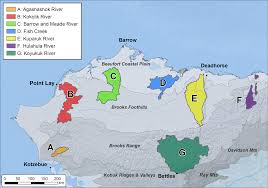 Barrow Alaska Map by Teon Maps Arctic Lcc