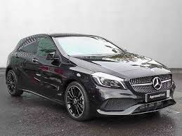 mercedes white used mercedes benz a class at stratstone