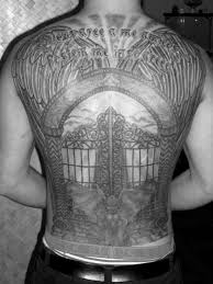32 best pearly gates tattoo designs images on pinterest heavens