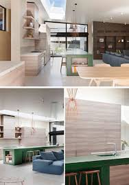 modern timber kitchen designs rammed earth and timber feature throughout this australian house