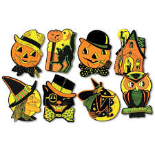 halloween window cutouts amazon com beistle 01009 packaged halloween cutouts 8 5