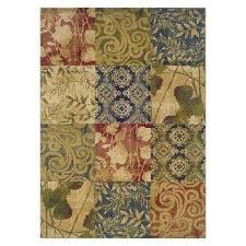 Yellow Area Rug Target Multicolored Area Rugs Target