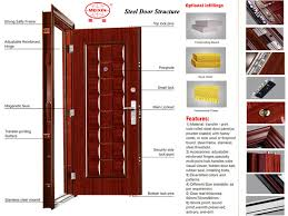 Bedroom Doors For Cheap Cheap Bedroom Door Front Door Security Steel Security Door Buy
