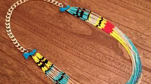 indian beaded necklace images How to make a native american necklace diy style tutorial jpg
