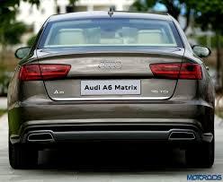audi a6 modified 2015 audi a6 matrix 35tdi facelift review the blue pill motoroids