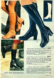 s boots with heels 1970s boots crinkle platform stretch boots more