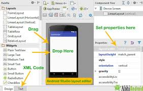 layout designer android ui and layout design tutorial exles and code