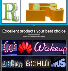 programable outdoor big metal marquee letters merry led