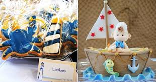 baby shower anchor theme nautical themed baby shower celebrations at home