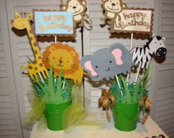 How To Make Safari Centerpieces For A Baby Shower supreme baby