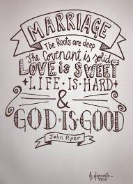 wedding quotes god piper marriage the roots are the covenant is solid