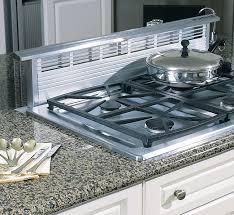 Ge Built In Gas Cooktop Kitchen Top Ge Profile Series Black 30 Inch Built In Gas Downdraft