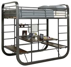 wentworth metal multi functional bunk bed industrial bunk beds