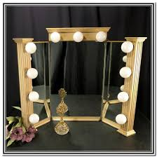 Lighted Makeup Vanity Mirror Lighted Makeup Vanity Table Mirror Home Design Ideas