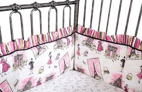 Waverly Crib Bedding Waverly Tres Chic Nursey Collection At The Trendy Bed