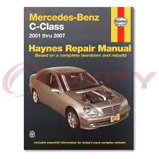 haynes mercedes benz c class 01 07 repair manual 63040 shop