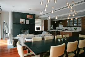 Modern Chandelier For Dining Room Dining Room Modern Farmhouse Dining Room With Photo Wall Ideas