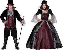 couples and vampiress of versailles costume bloody