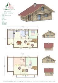 chalet plans plan maison affordable sweet d home design software