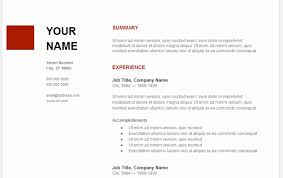 resume templates for docs resume template docs beautiful template resume