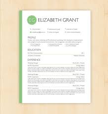 Word Document Templates Resume Resume Template Cv Template The Elizabeth Grant Resume Design