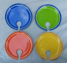 Glass Buffet Plates by Plates In Pattern Solid Color Multi Color Ebay