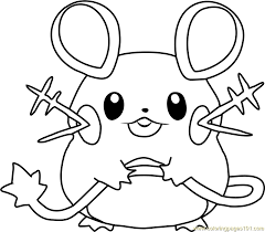 pokemon coloring pages images dedenne pokemon coloring page free pokémon coloring pages