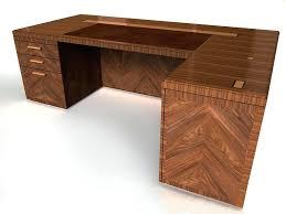 Desk L With Organizer Wood L Desk Interque Co