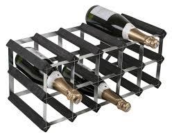 bottle traditional wooden wine rack 5x2